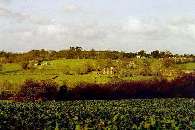 View to Iden Green, near Benenden