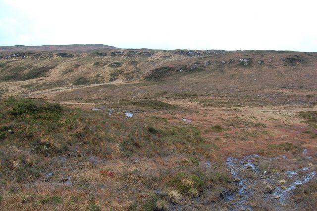 Moorland above Ollach