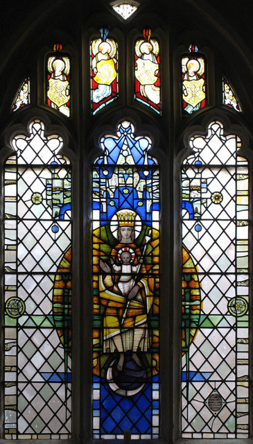 All Saints, Boxley, Kent - Window