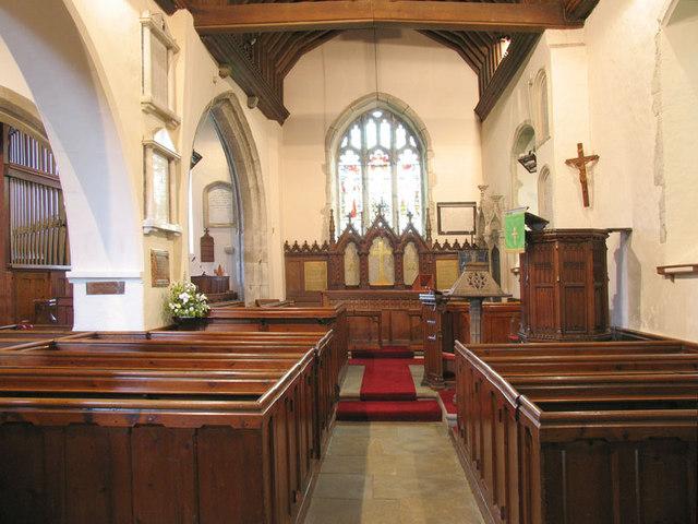 St Martin, Detling, Kent - East end