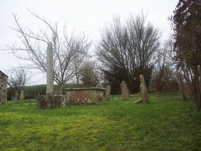Graveyard at St Catherines Church, Netherhampton