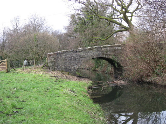 Bridge over canal Pontardawe - Ynysmeudwy