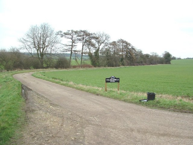 Entrance to Coldharbour Farm