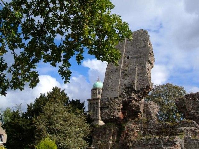 Bridgnorth castle keep