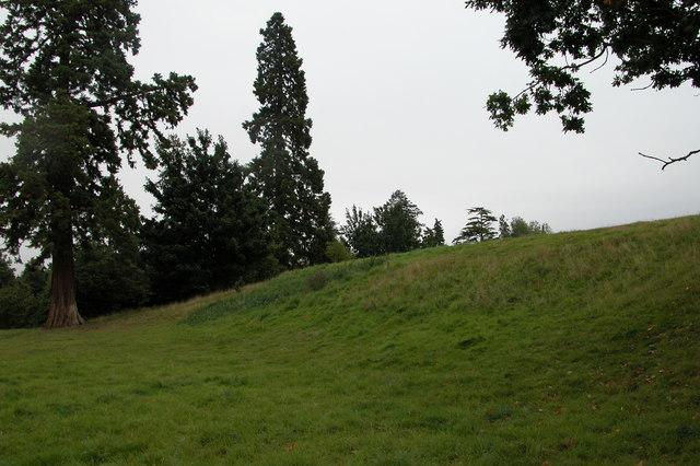 The site of Hanley Castle