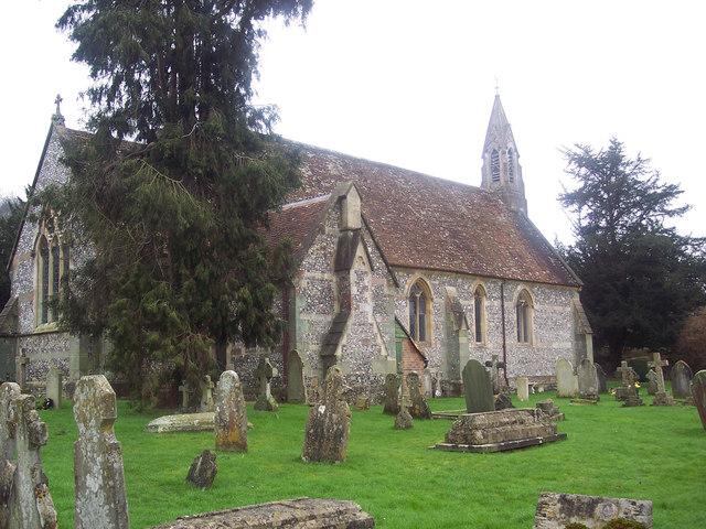 The Church of All Saints, Harnham
