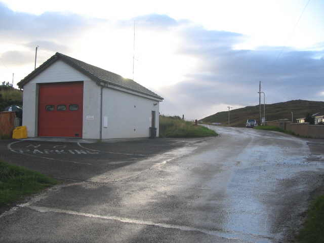 Bettyhill fire station