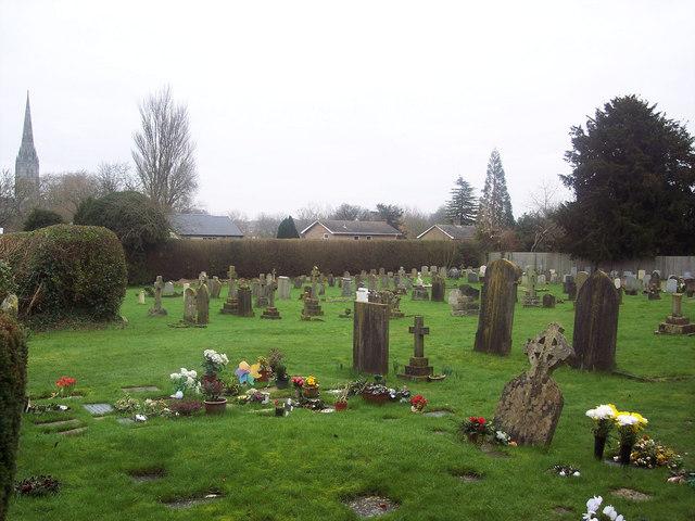 Churchyard at All Saints Church