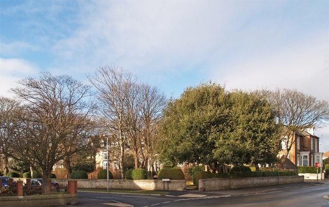 Hornsea Public Gardens.