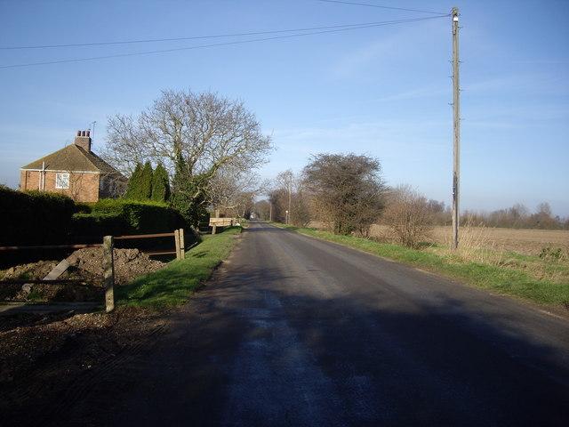 Rhoon Road Nr Terrington St Clement
