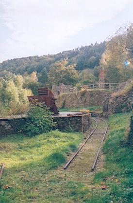 Rusting rails.