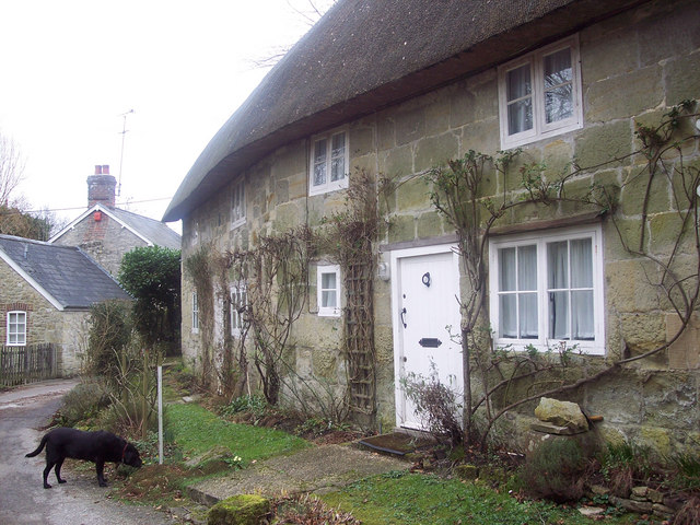 Stone Cottages in Swallowcliffe
