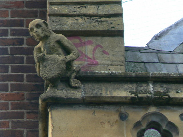 Hereford Library, Museum and Art Gallery, Broad Street, gargoyle 1
