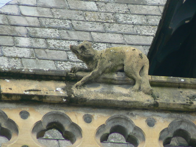 Hereford Library, Museum and Art Gallery, Broad Street, gargoyle 2