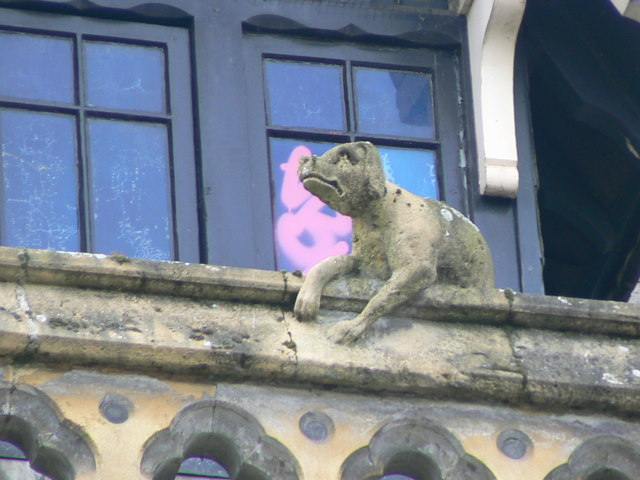 Hereford Library, Museum and Art Gallery, Broad Street, gargoyle 3