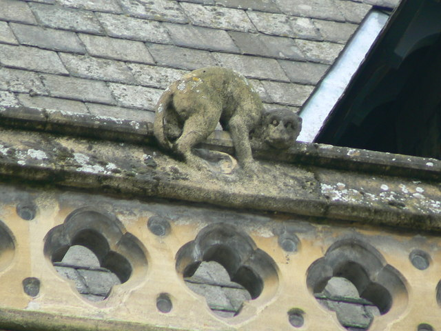 Hereford Library, Museum and Art Gallery, Broad Street, gargoyle 4