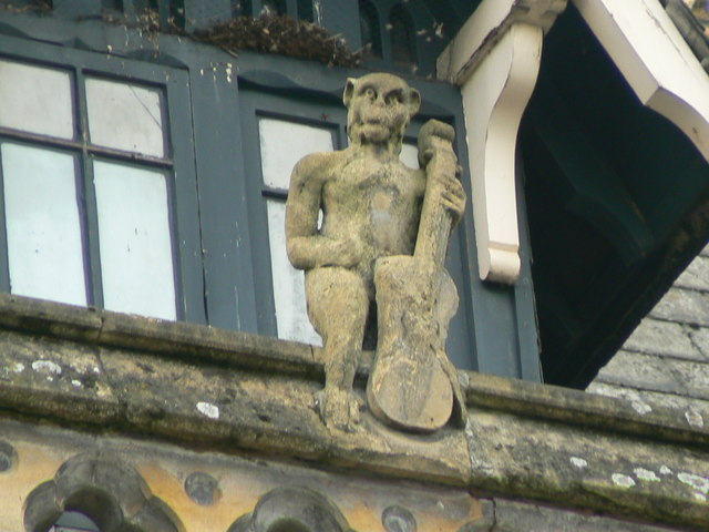 Hereford Library, Museum and Art Gallery, Broad Street, gargoyle 5