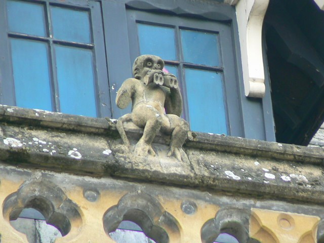 Hereford Library, Museum and Art Gallery, Broad Street, gargoyle 6