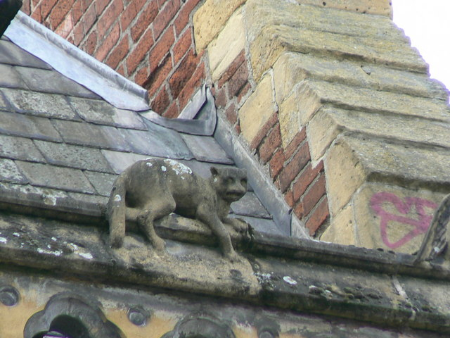 Hereford Library, Museum and Art Gallery, Broad Street, gargoyle 7