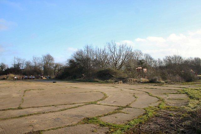 Part of former Rattlesden Airfield