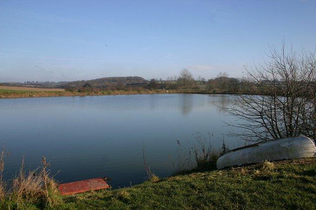 Reservoir near Preston St Mary