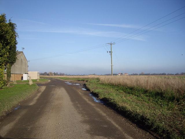 Road Near The Laurels Farm