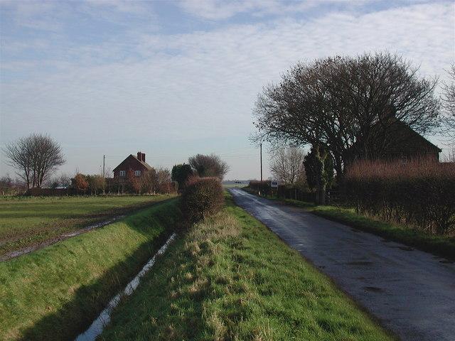 Brick Road, Sunk Island