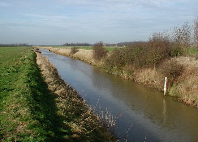 Winestead Drain from North Channel Bridge