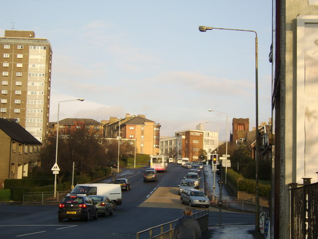 View north on Kilbowie Road