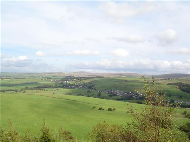 View over Cliviger