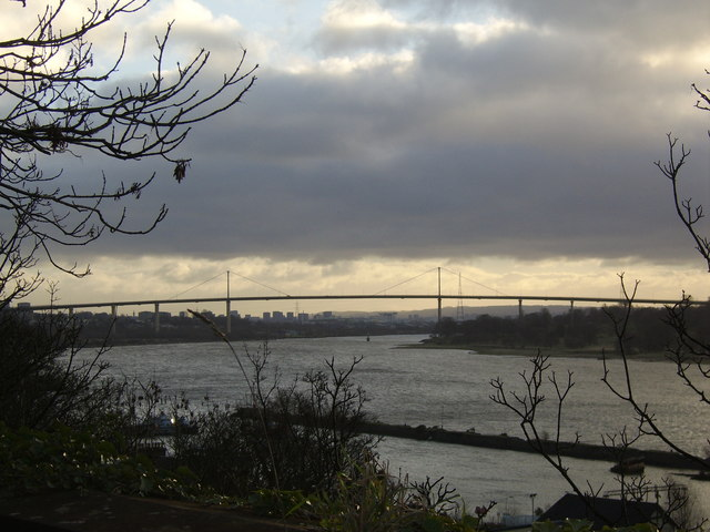 Erskine Bridge from Bowling
