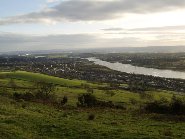 Clydebank from Kilpatrick Hills