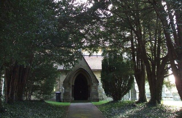 All Saints, Ridgmont : North Porch