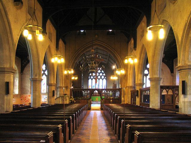 St Botolph, Northfleet, Kent - East end