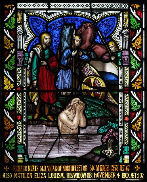 St Botolph, Northfleet, Kent - Window