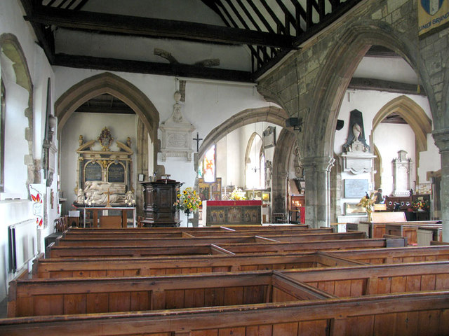 St Paulinus, Crayford, Kent - East end