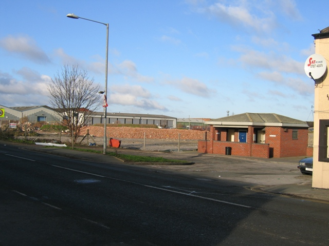 Saltney Toilet Facilities and Demolition Site