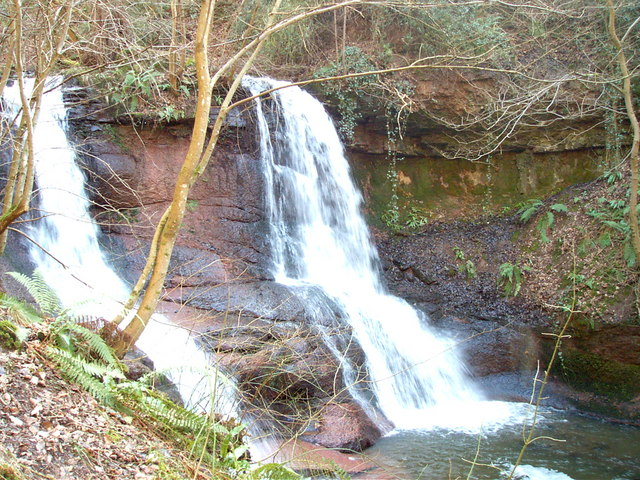 Waterfall at Pwll y Wrach