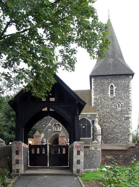 St Peter & St Paul, Swanscombe, Kent