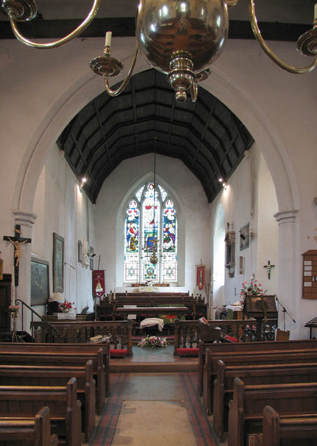 St Peter & St Paul, Swanscombe, Kent - East end
