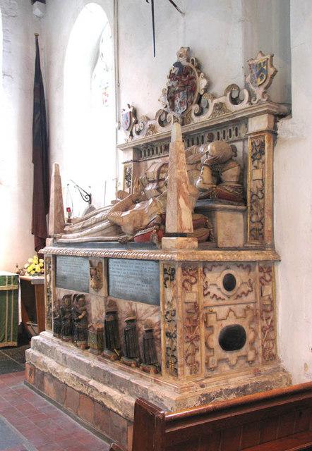 St Peter & St Paul, Swanscombe, Kent - Monument