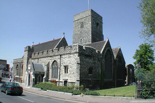 Holy Trinity, Dartford, Kent