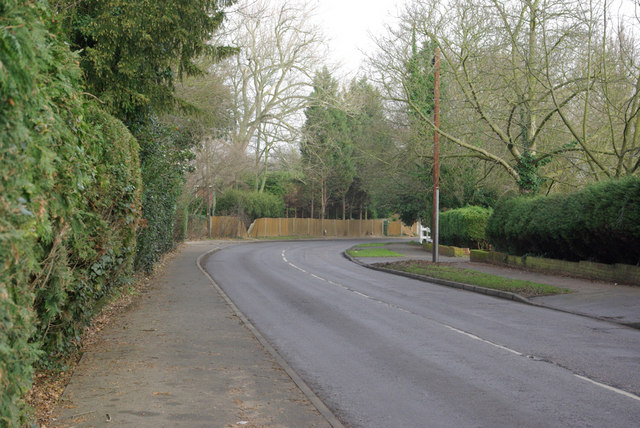Bend on New Barn Road