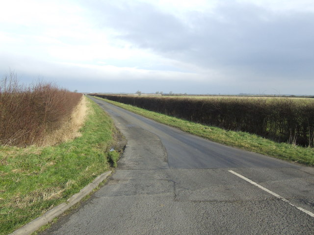Lane to Corringham Grange