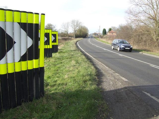 Bend in the Corringham Road