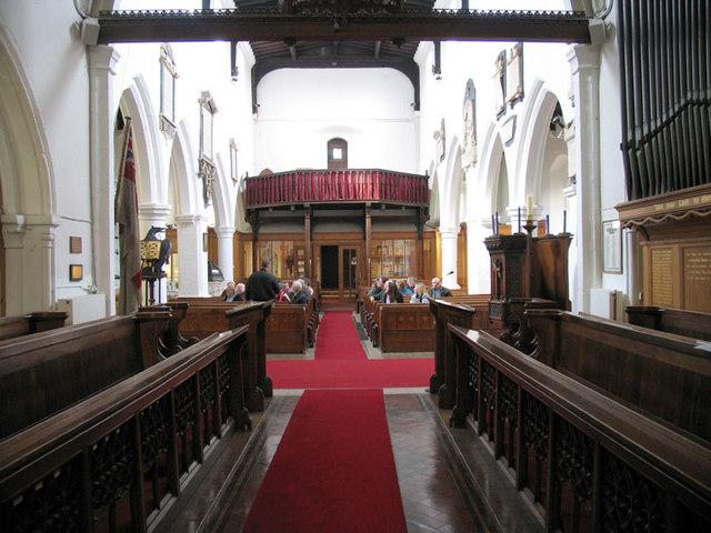 St Mary, Gillingham, Kent - West end