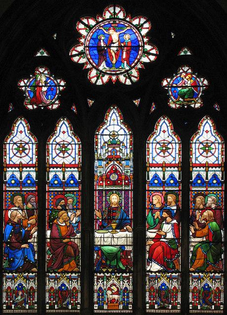 St Michael, Sittingbourne, Kent - East window