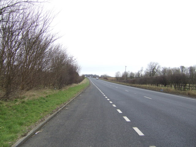 A15 north towards the M180