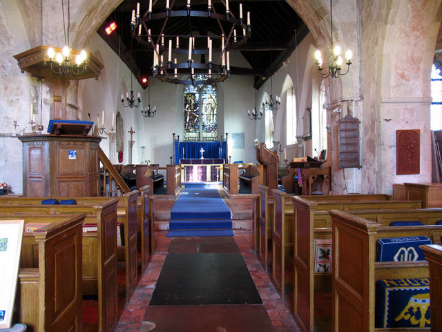 St Margaret, Lower Halstow, Kent - East end