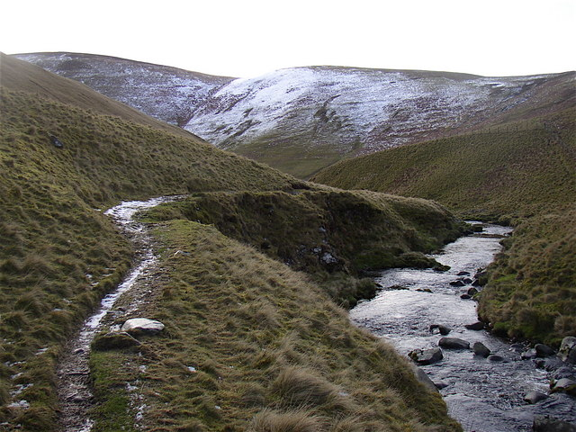 The Castles, Usway Burn Valley